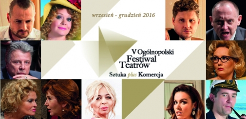 "Festiwal Teatrów ""Sztuka plus Komercja"" powraca!"
