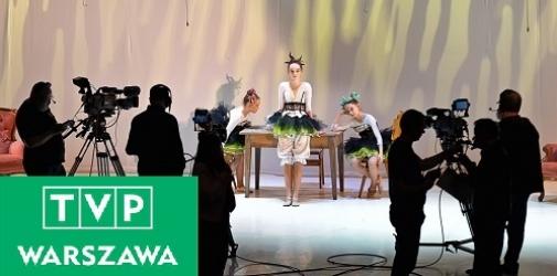 """Spektakl """"Kopciuszek"""" na antenie TVP Warszawa!"""