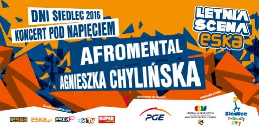 Agnieszka Chylińska i Afromental w Siedlcach!