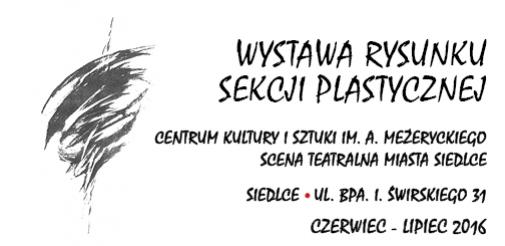 Otwarcie wystawy sekcji plastycznej